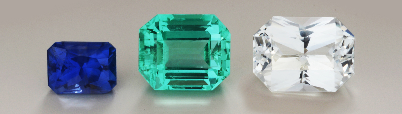 Astrology Blue Sapphire, Emerald, White Sapphire
