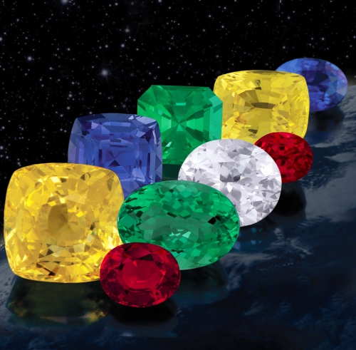 Fine, Top-Quality, Untreated Astrological Gemstones