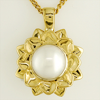 Women's Jyotish Pearl Pendant